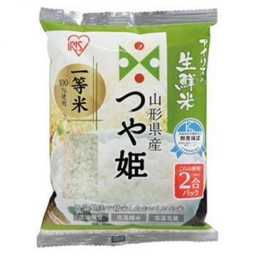 IRIS Fresh Tsuyahime Rice from Yamagata Prefecture, 2 Packs, 300g
