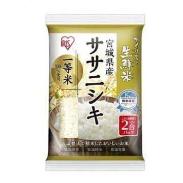 IRIS Fresh Sasanishiki Rice from Miyagi Prefecture, 2 Packs, 300g