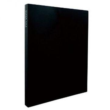 Sekisei Clear File High Transparent A4S40 Pocket 20847 KP-2514-60, Black