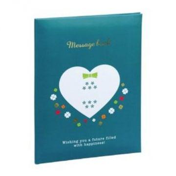 Nakabayashi Message Book MBB6-301-B, B6, Blue