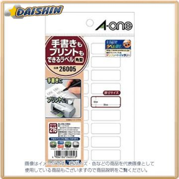 A-One Handwriting May Be Printed Labels Rectangular 18 Surface 804790