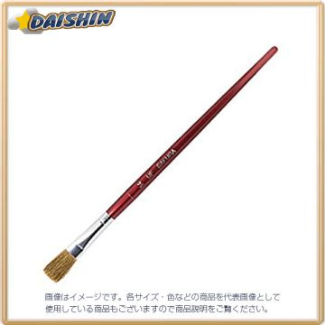 Cherry Clepas Brush Made from Horse Hair UR#14, Plastic Shaft, Flat