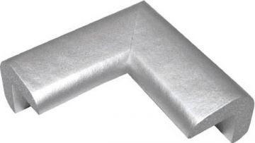 Trusco Nakayama Safe Cushion Corner Ultra-Fine TAC-127, Silver