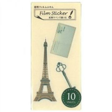 Nakabayashi Transparent Film Sticky Eiffel Tower NC-FSN-029