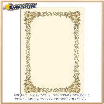 Sasagawa Hiroshi Pattern Diploma Paper, Vertical and Horizontal Combined, B4 Size 26324