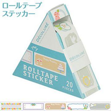 Nakabayashi Dekorure Roll Tape Sticker Wedding RTPS-101-1