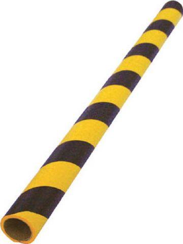 Trusco Nakayama Safe Cushion Round TAC-600Myb, Tiger Pattern, Yellow, Black