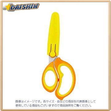 Kutsuwa School Scissors Hirakuno Yellow The Left Hand 6457 SS104L