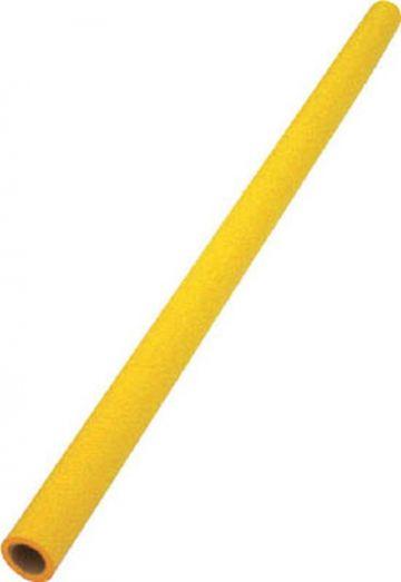 Trusco Nakayama Safe Cushion Round TAC-82Y, 17mm, Yellow