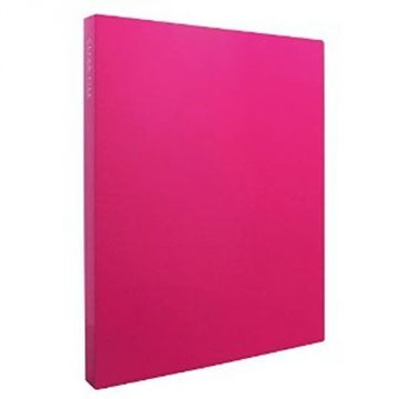 Sekisei Clear File High Transparent A4S40 Pocket 20845 KP-2514-21, Pink