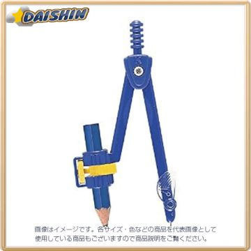 Kutsuwa Safety Compass The Pencil 47877 CP204N, Blue