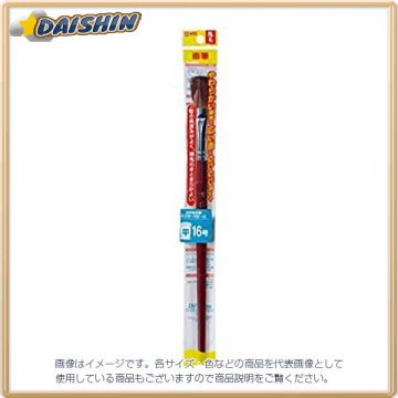 Cherry Clepas Brush Made from Horse Hair UR#16, Plastic Shaft, Flat