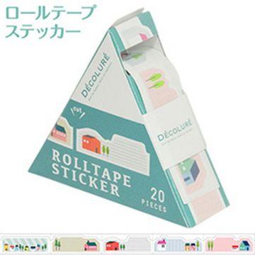 Nakabayashi Dekorure Roll Tape Sticker Ye RTPS-101-5