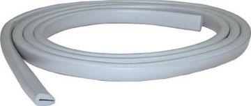 Trusco Nakayama Safe Cushion Entrapment Type TAC-38LG, Width 9mm, Light Gray