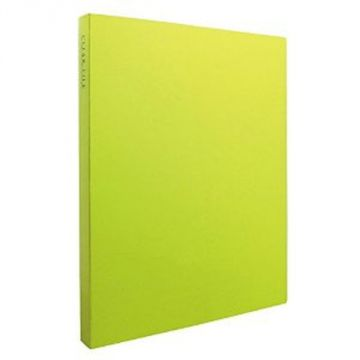 Sekisei Clear File High Transparent A4S40 Pocket KP-2514-33, Light Green