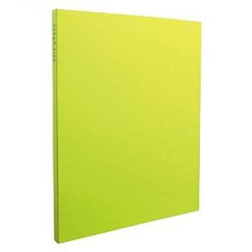 Sekisei Clear File High Transparent A4S20 Pocket KP-2512-33, Light Green