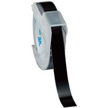 Dymo Glossy Tape 9mm Tsuyayu 983 DM0903B, Black