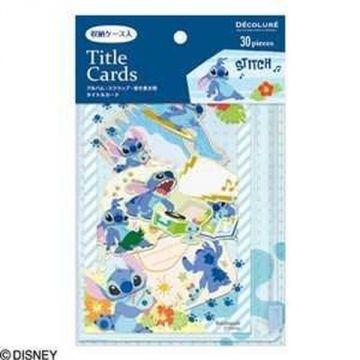 Nakabayashi Title Card Pocket Case Yili, Stitch ATC-D101-3