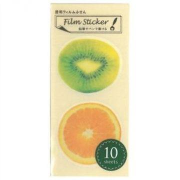 Nakabayashi Transparent Film Sticky Kiwi Orange NC-FSN-019
