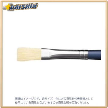Sakura Crepus Brush Made from Pig Hair BR#8, Plastic Shaft, Flat