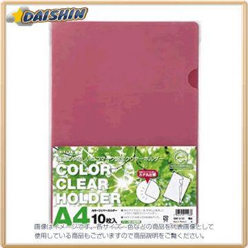 Lihit Lab Clear Holder 10 Sheets of A4 Irokomi 10377 G6010