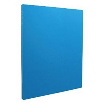 Sekisei Clear File High Transparent A4S20 Pocket 20839 KP-2512-10, Blue