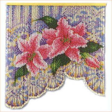 Motohiro Flower Lace Skill Screen Beading Kit