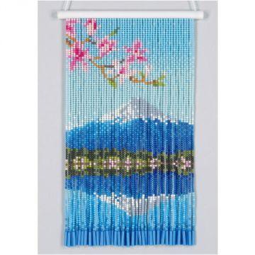 Motohiro Skill Tapestry Mount Fuji Reflection