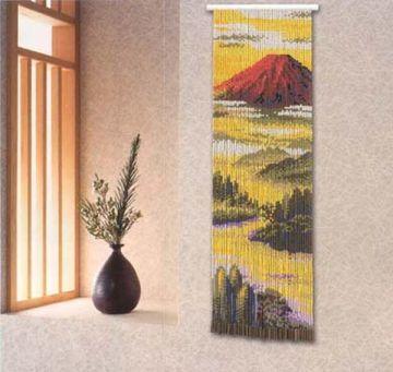Motohiro Skill Tapestry Red Mount Fuji