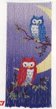 Motohiro Moon And Owl Skill Tapestry Beading Kit