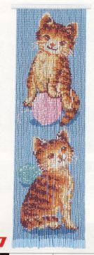 Motohiro Skill Tapestry Kitten And Thread