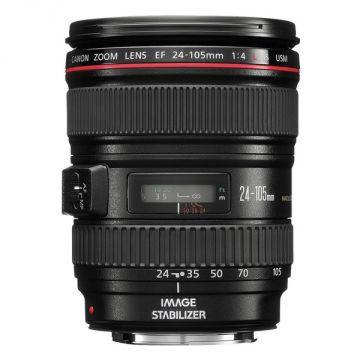 (Used) Canon Standard Zoom Lens EF24-105mm F4L IS USM