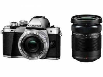 (Used) OLYMPUS OM-1 Black Double Lens Set