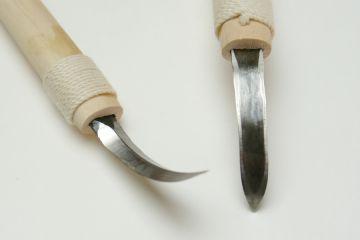 Odd-Shaped Chisel Knife - Yari-Kanna (Plane), Shallow 12mm