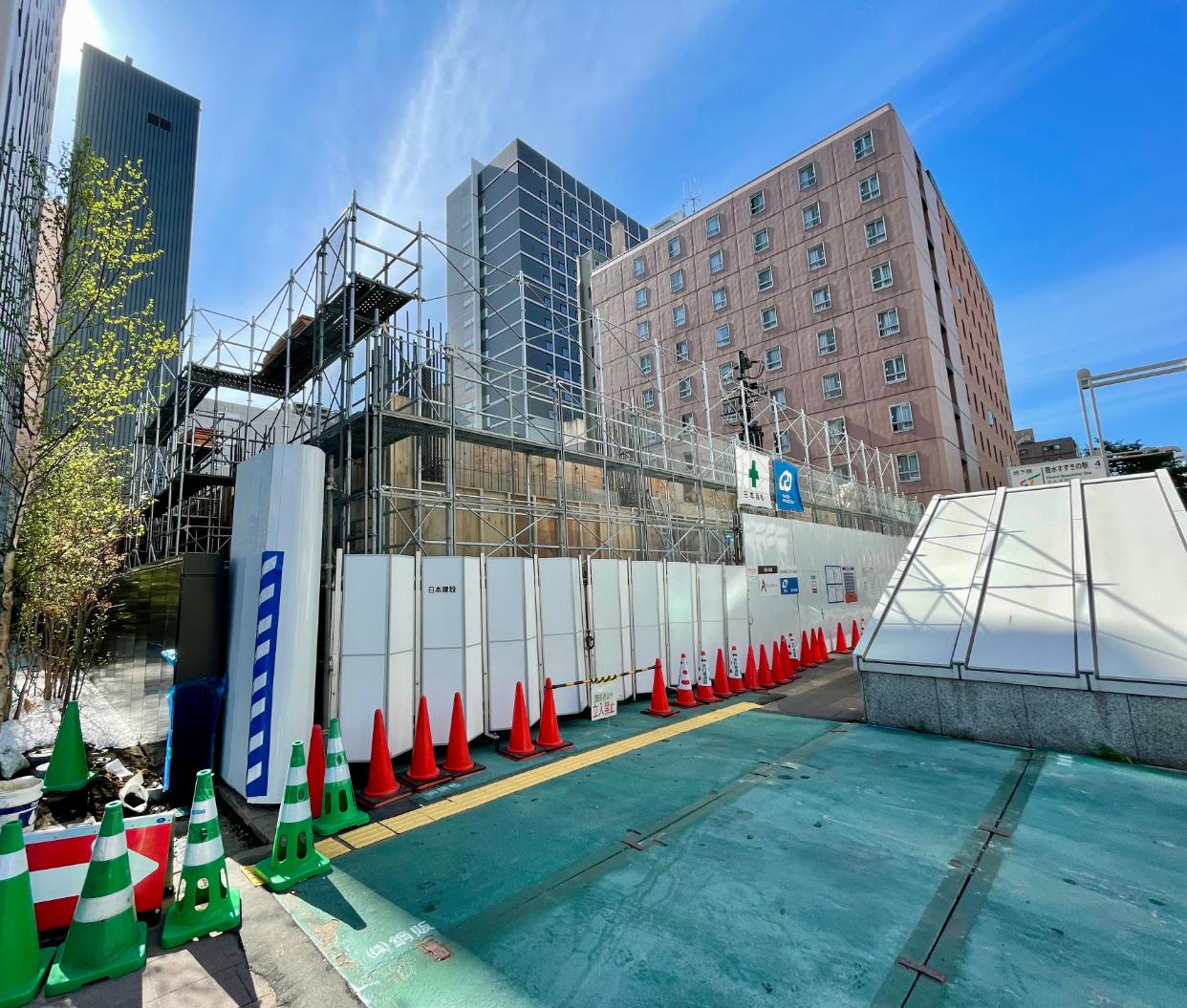 ✨2022年4月完成予定✨(仮称)相鉄フレッサイン 札幌すすきの 1階テナント