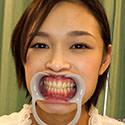 【歯フェチ】清楚な可愛い女の子、真琴ちゃんの整った歯を観察しました!