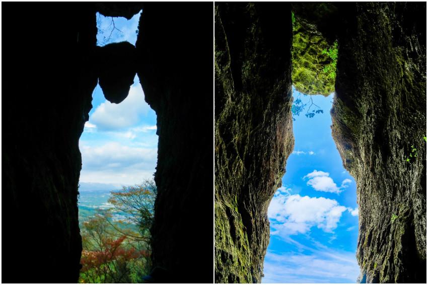 到熊本看自然奇蹟!卡岩縫的「免之石」震災掉落,優雅貓咪接棒現身