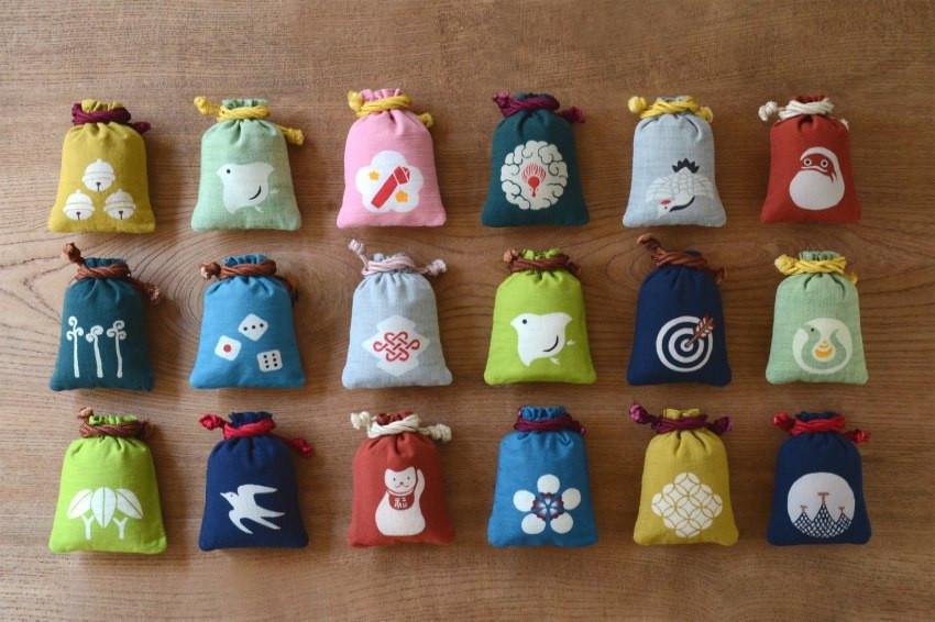 日本最具代表性的和風伴手禮登場!職人操刀,50種傳統花紋化身超可愛的守袋,準備衝本品堂搶購囉!