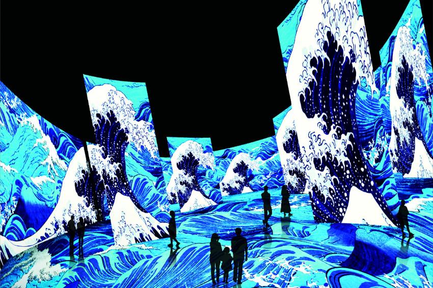 360度體驗巨大浮世繪!角川武藏博物館週年紀念展,「浮世繪劇場 from Paris」絢爛開幕