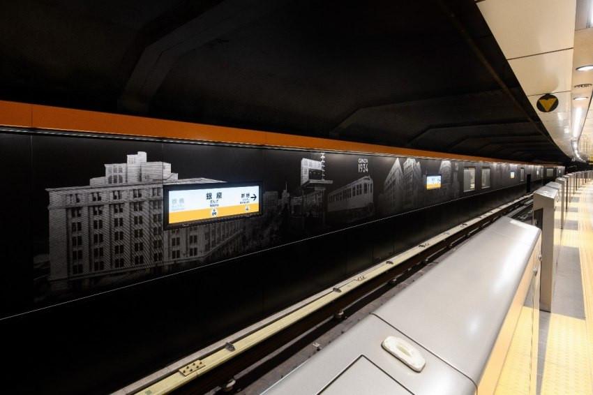 亞洲第一條地鐵「東京銀座線」改造工程結束!各車站全新面貌先睹為快
