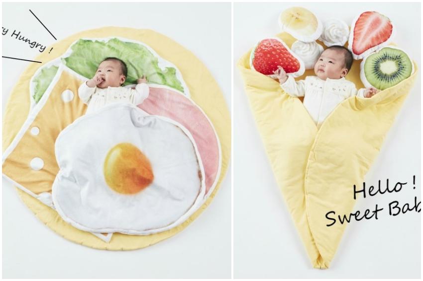 世上最軟Q可麗餅來報到!蓬鬆美味的「嬰兒可麗餅睡毯」,讓寶貝或毛小孩立刻成為最萌配料!