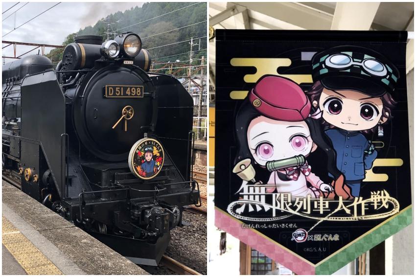 這種聯名就叫誠意!直擊鬼滅之刃x東日本SL群馬「無限列車大作戰」車廂內部,從釜飯便當開始就有滿滿感動!