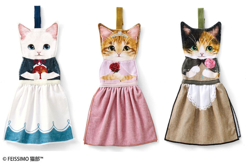 貓奴集合!插畫風貓咪生活用品問世啦!童話貓咪擦手巾 × 魔法書貓咪風格化妝包!貓奴一定要入手!