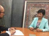 都知事選 小池百合子氏インタビュー 議会のドンに牽制球