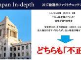 法人税引下げ後税収増→「不正確」