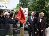 中国パンダ外交でフランスに接近