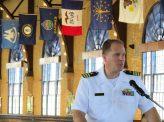 米海軍士官学校の柔道部長退役