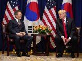 トランプ氏、在韓米軍撤収せず 偽ニュース再び