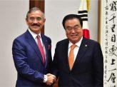 韓国国会議長訪米のわけ