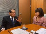 「憲法改正の気運高めたい」平沢勝栄自民党憲法改正推進本部副本部長
